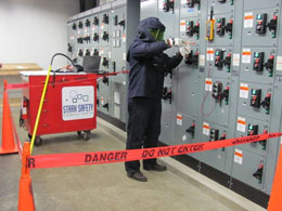 T-CAP Electrical Safety Barricade